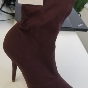 Yeezy Stretch Canvas Booties